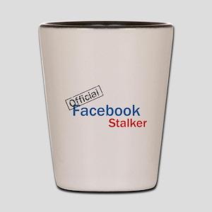 Official Facebook Stalker Shot Glass