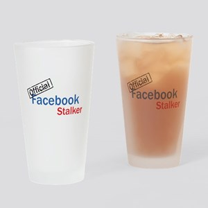 Official Facebook Stalker Drinking Glass