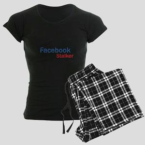 Official Facebook Stalker Women's Dark Pajamas