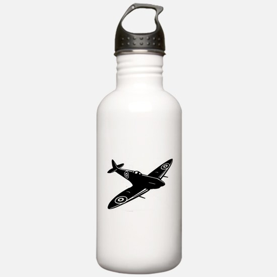 spitfire ww1 plane Water Bottle
