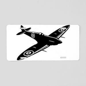 spitfire ww1 plane Aluminum License Plate