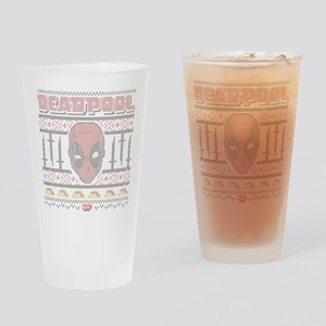 Deadpool Holiday Drinking Glass