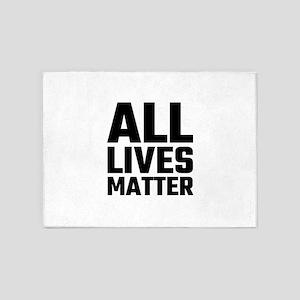 All Lives Matter 5'x7'Area Rug