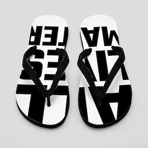 All Lives Matter Flip Flops