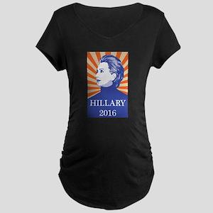 Hillary 2016 Maternity T-Shirt