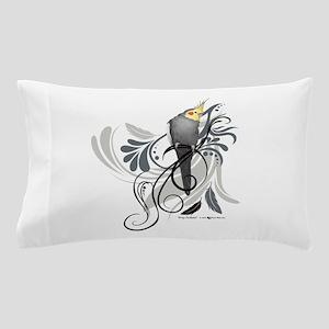 Gray Cockatiel Pillow Case