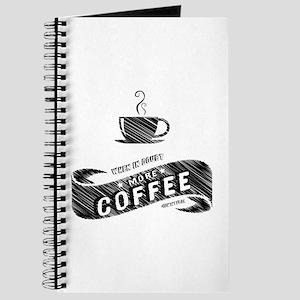 More Coffee (DARK) Journal