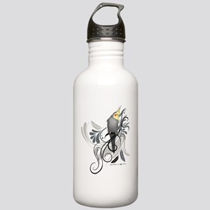 Gray Cockatiel Stainless Water Bottle 1.0L