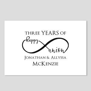 Custom Anniversary Years Postcards (Package of 8)