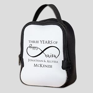 Custom Anniversary Years and Na Neoprene Lunch Bag