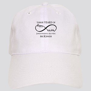 Custom Anniversary Years and Names Infinity Cap