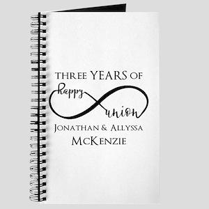 Custom Anniversary Years and Names Infinit Journal