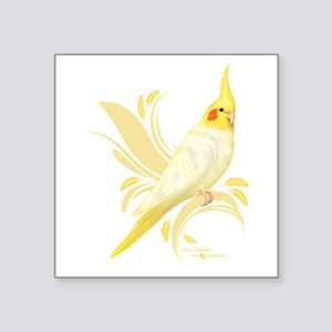Lutino Cockatiel Sticker