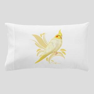 Lutino Cockatiel Pillow Case