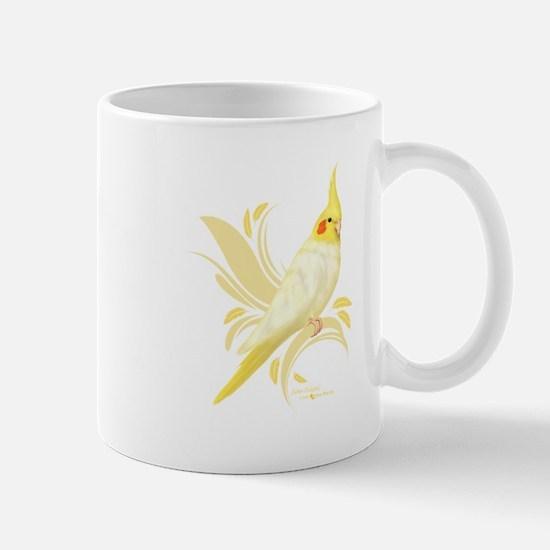 Lutino Cockatiel Mugs