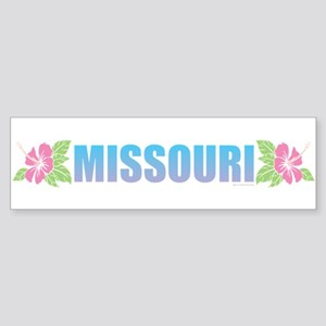 Missouri Design Bumper Sticker