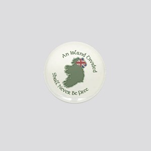 An Island Divided Mini Button