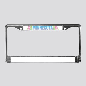 Minnesota Design License Plate Frame