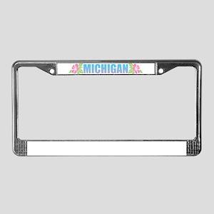 Michigan Design License Plate Frame