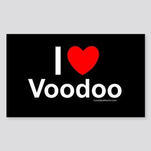 Voodoo Sticker (Rectangle)