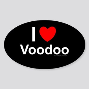 Voodoo Sticker (Oval)