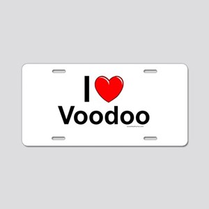 Voodoo Aluminum License Plate