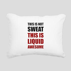 Liquid Awesome Rectangular Canvas Pillow
