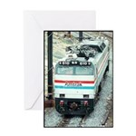 Amtrak E-60 # 610 Greeting Card