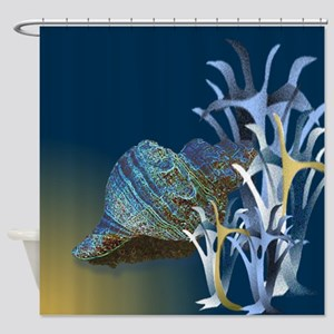 Abyssal Conch Shower Curtain