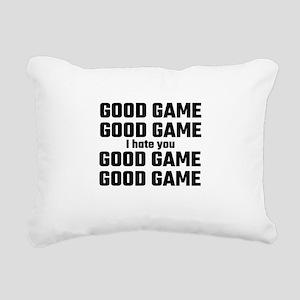 Good Game, Good Game, I Rectangular Canvas Pillow