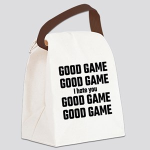 Good Game, Good Game, I Hate You, Canvas Lunch Bag