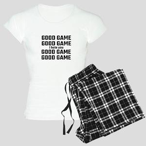 Good Game, Good Game, I Hat Women's Light Pajamas