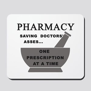 pharmacy saving doctors Mousepad