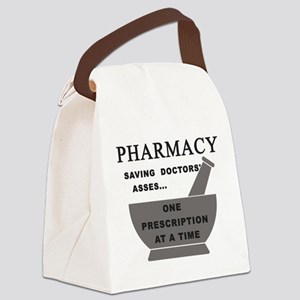 pharmacy saving doctors Canvas Lunch Bag