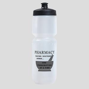 pharmacy saving doctors Sports Bottle