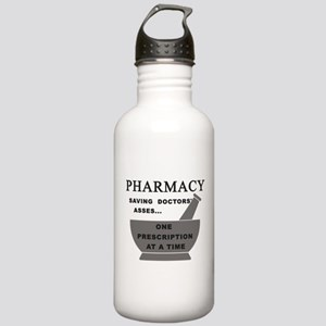 pharmacy saving doctor Stainless Water Bottle 1.0L