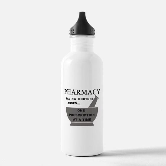 pharmacy saving doctor Water Bottle