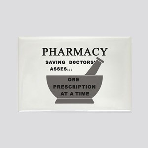 pharmacy saving doctors Rectangle Magnet