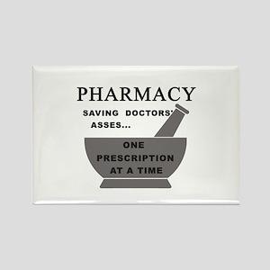 pharmacy saving doctors Rectangle Magnet