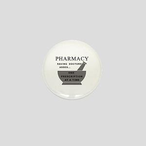 pharmacy saving doctors Mini Button