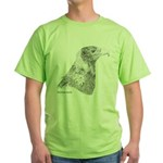 Wedge Tailed Eagle Fine Green T-Shirt
