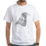 Wedge Tailed Eagle Fine White T-Shirt