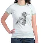 Wedge Tailed Eagle Fine Jr. Ringer T-Shirt