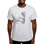 Wedge Tailed Eagle Fine Light T-Shirt