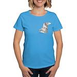 Wedge Tailed Eagle Fine Women's Dark T-Shirt