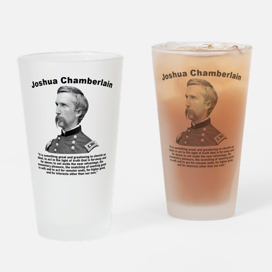 Chamberlain: Greatness Drinking Glass