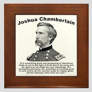 Chamberlain: Greatness Framed Tile