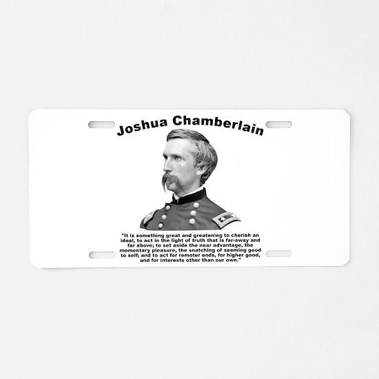 Chamberlain: Greatness Aluminum License Plate