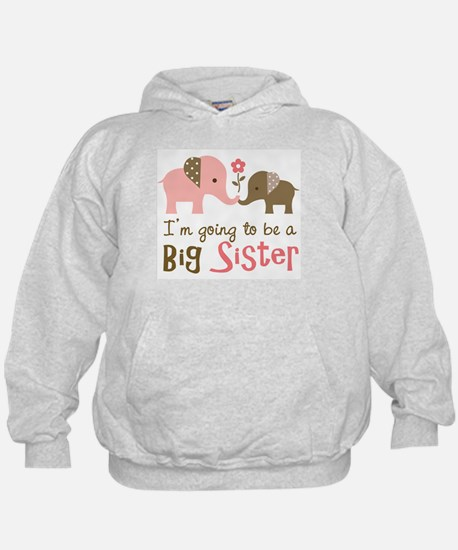 Cool Big sister to be Hoody