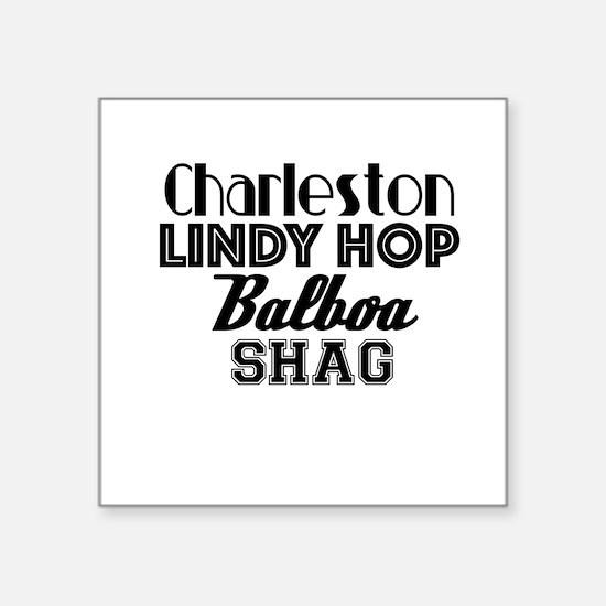 Swing Dances Sticker